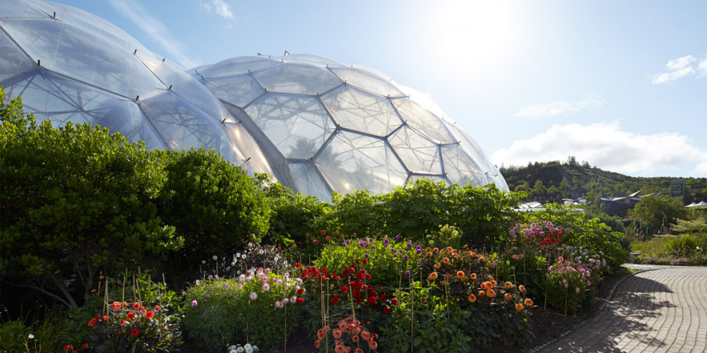 Things to do with older children on a family holiday to Cornwall - Eden Project